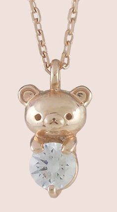 Rilakkuma necklace charm (^O^☆♪