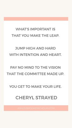 Cheryl Strayed Quotes What If