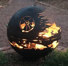 Star Wars: Death Star fire pit.