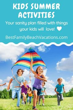 Kids Summer Activities: Use This Plan to Keep Them Busy » Use this plan to know what what kids summer activities you are going to do with your kids. Imagine this – it's now summer time and the kids are out of school. Great for them, but what are you going to do? #summeractivities #kidssummer Kids Activities At Home, Activities For 2 Year Olds, Summer Activities For Kids, Summer Kids, Fun Activities, Parenting Toddlers, Parenting Advice, Best Family Beaches, Children And Family