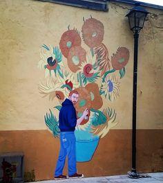ᐅ Die 99 Besten Bilder von Illustration in 2019 Giuseppe Veneziano via special thanks to Art And Illustration, Van Gogh, Street Artists, Kitten, Thankful, Instagram Posts, Artwork, Fun, Painting