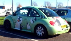 Penguin car! I love them but I would never!!