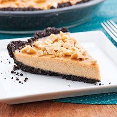 Tarte au chocolat et beurre d'arachide - Desserts - Recettes 5-15 - Recettes express 5/15 - Pratico Pratiques
