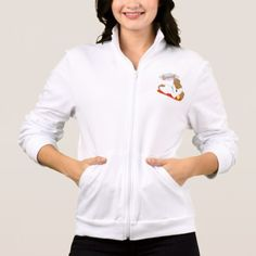 Puppy Dreaming Womens Jacket - dog puppy dogs doggy pup hound love pet best friend