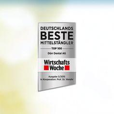 DÜRR DENTAL AG igen blandt Tysklands bedste små og mellemstore virksomheder Den medicintekniske virksomhed fra Bietigheim-Bissingen ses som solid og innovativ  http://www.duerrdental.com/dk/aktuelt/nyheder/news-singleview/details/duerr-dental-ag-igen-blandt-tysklands-bedste-smaa-og-mellemstore-virksomheder-425/853/