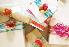 The Treasure Chest: Wrap it with yarn - colorful projects to make this weekend!