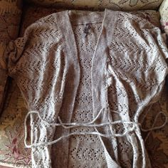 Charlotte ruse beige cardigan This is a soft wool cardigan from Charlotte ruse. Hardly ever worn. Sweaters Cardigans