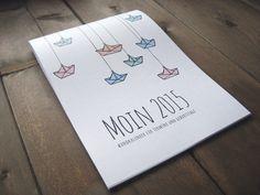 Zauberhaft illustriert durchs Jahr mit dem Kalender »Moin 2015« von binenschmiede auf DaWanda.com