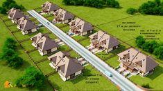 Расстояние между домами схема