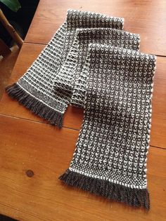 Wool Scarf by workingyarn, via Flickr