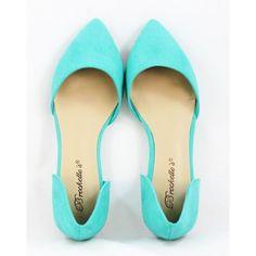 Sassy Flats - Aqua | Shoes | Kiki LaRue