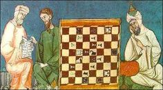 Moors of Spain playing chess