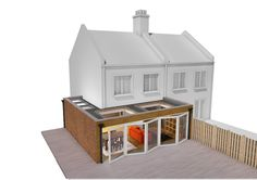 extentions maison Most up-to-date Pictures two story Fireplace Remodel Tips 1930s House Extension, House Extension Plans, Conservatory Extension, House Extension Design, Extension Designs, House Design, Extension Ideas, Wraparound Extension, Single Storey Extension