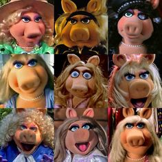 The Many Faces of Piggy   Muppets