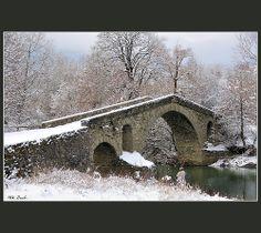 """Το πέτρινο γεφύρι του Ζιάκα - """"Ziakas"""" old stone bridge"""