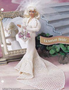 Viktorianische Braut Annie der attischen Mode Puppe Kleidung