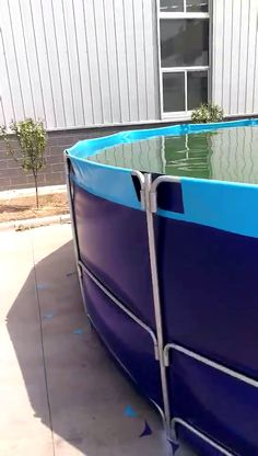 You can Buy good quality collapsible fish ponds from us. We are collapsible fish ponds supplier for more than 12 years Fish Farming Ponds, Fish Tank Aquaponics, Shrimp Farming, Aquaponics System, Hydroponics, Pergola Shade, Diy Pergola, Pergola Ideas, Outdoor Fish Ponds