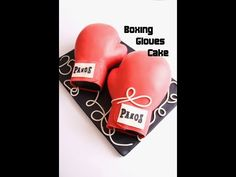 Boxing Gloves Cake, Youtube, Food Cakes, Sweets, Cooking, Boxing Gloves, Bakken, Recipies, Youtubers