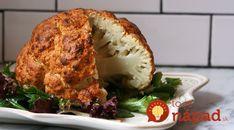 Zabudnite na klasickú vyprážanú alebo varenú verziu a pripravte pre seba a svojich najbližších lahodný korenený karfiol so syrom, pečený vcelku.