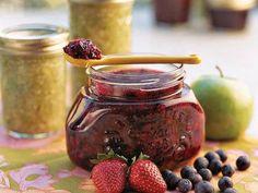 Double Berry Freezer Jam