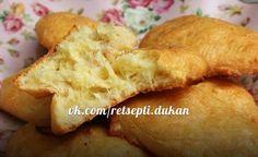 Рецепты по диете Дюкан. Сырное печенье. Чередование.