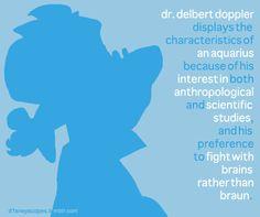 Aquarius: Dr. Delbert Doppler
