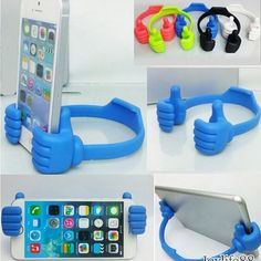 Universal OK Thumb Mount Flexible Stand Holder For Mobile Phone Stand Holder - Iphone XR Stand - Ideas of Iphone XR Stand - Iphone Holder, Iphone Stand, Cell Phone Stand, Cell Phone Holder, Ipad Holder, Smartphone Holder, Gadgets And Gizmos, Cool Gadgets, Baby Gadgets