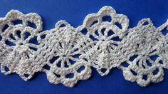 How to Crochet Bruges Lace Tape Брюггское кружево крючком схемы вязания ...