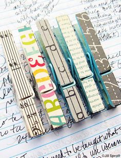 Picking Up the Pieces: 19 ideas to use up crafting scraps