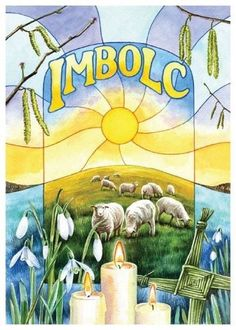 Imbolc - is strongly associated with Saint Brighid. The Imbolc Festival, every February,  celebrates the onset of spring and is connected with Brighid as a fertility goddess.