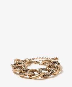 My Forever 21 thrifty version of the MK bracelet