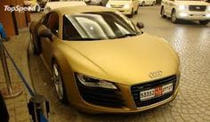 audi r8 matte gold - Google Search