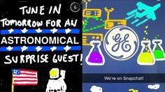 """General Electric apre un account ufficiale su Snapchat e lancia l'hashtag #NextList con il quale chiede ai suoi utenti di condividere le proprie idee rispondendo alla domanda: """"Come sarà la tecnologia nel 2064?""""   #GeneralElectric #Snapchat #tecnologia #futuro"""