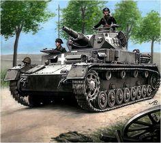 Panzer IV Ausf. C del 8./PzRgt. 1, 1ª Panzerdivision. Polonia, Setiembre de 1939.