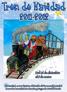 Tren de la Navidad - Museo Ferrocarril de Madrid