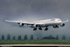 A340 Breaking clouds