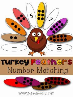 Con este juego los niños/as deben de asociar el número de puntos con el número, que aparece escrito, en las alas.