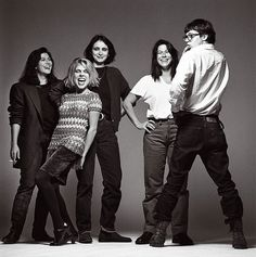 The Breeders - Kim Deal, Kelley Deal, Tanya Donelly, Josephine Wiggs and that drummer from Slint :) Music Love, Rock Music, My Music, Rock Indé, Rock And Roll, Riot Grrrl, Alternative Music, Kim Deal, Bands