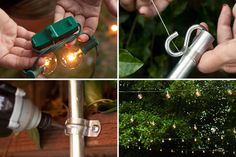 How to Hang String Lights in Your Backyard