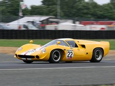 The LOLA T70  has always caught my eye as a very Swoopy bodied car          The Ford P68 is in the running also