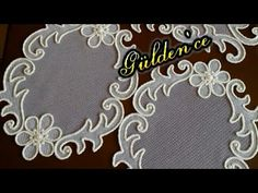 Rope Crafts, Diy Crafts, Dollar Tree Decor, Point Lace, Cutwork, Embroidery Designs, Make It Yourself, Quilts, Decoration