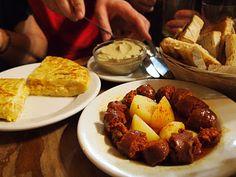 Adventurous Appetites Tapas Tour, Madrid, Spain...SOOOOOOOOOO much food and a great way to TASTE the city:)