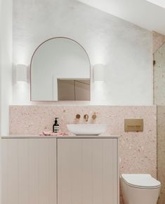 The stunning bathroom of our Airbnb 'The Loft Corlette' - imagine how many selfies could be taken in this beauty! Stone Bathroom, Bathroom Renos, Bathroom Wall, Decor Inspiration, Bathroom Inspiration, Bathroom Inspo, Bathroom Interior Design, Home Interior, Design Apartment