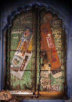 door in Rajasthan India.