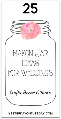 mason jar craft ideas for weddings bridal shower thank you verse thank you cards sayings 7819