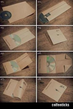 Make your own CD cover :)