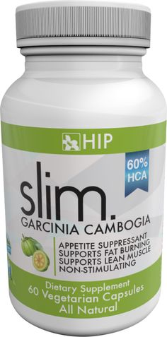 HIP slim. is formulated with Garcinia Cambogia, proven in research to be a safe and powerful weight-loss tool when combined with proper diet and exercise. Our Product with 60% HCA and a full 1,000mg has the Highest Potency – 600mg HCA per Serving!