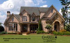 Monet House Plan | House Plans by Garrell Associates, Inc