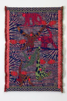 """""""hypnopompic"""" a collection of jacquard woven tapestries by kustaa saksi"""