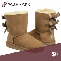 ISO SHORT OR TALL BAILEY BOW BROWN UGGS Brown bailey bow UGGS short or tall UGG Shoes Winter & Rain Boots